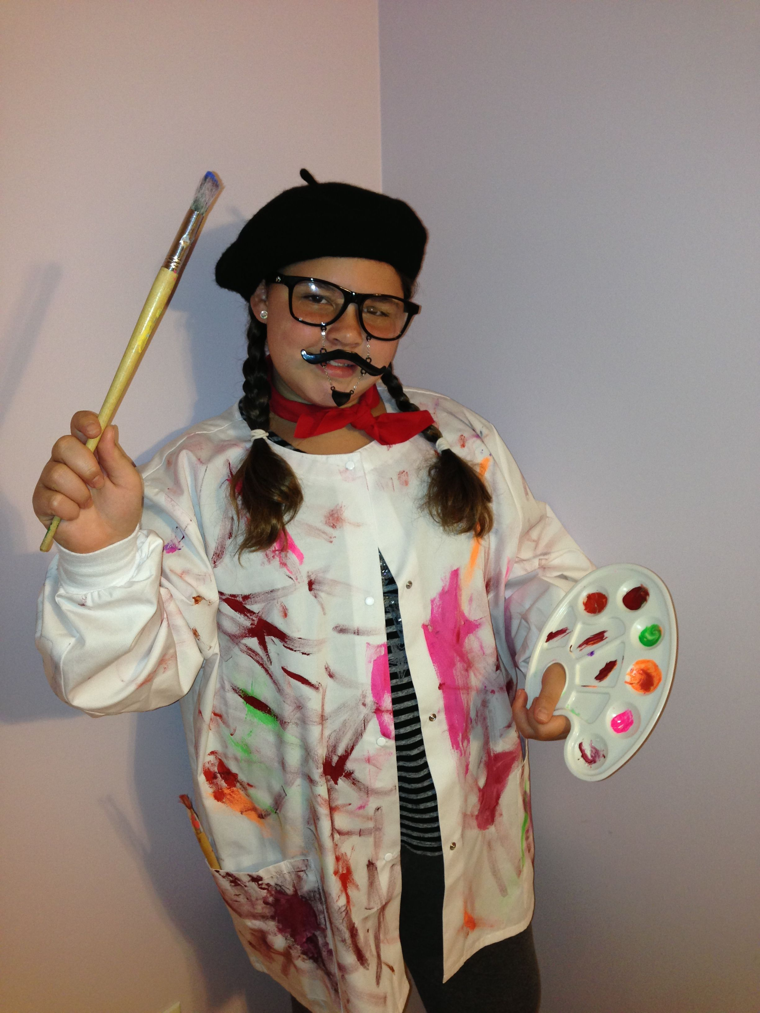 French Artist Costume