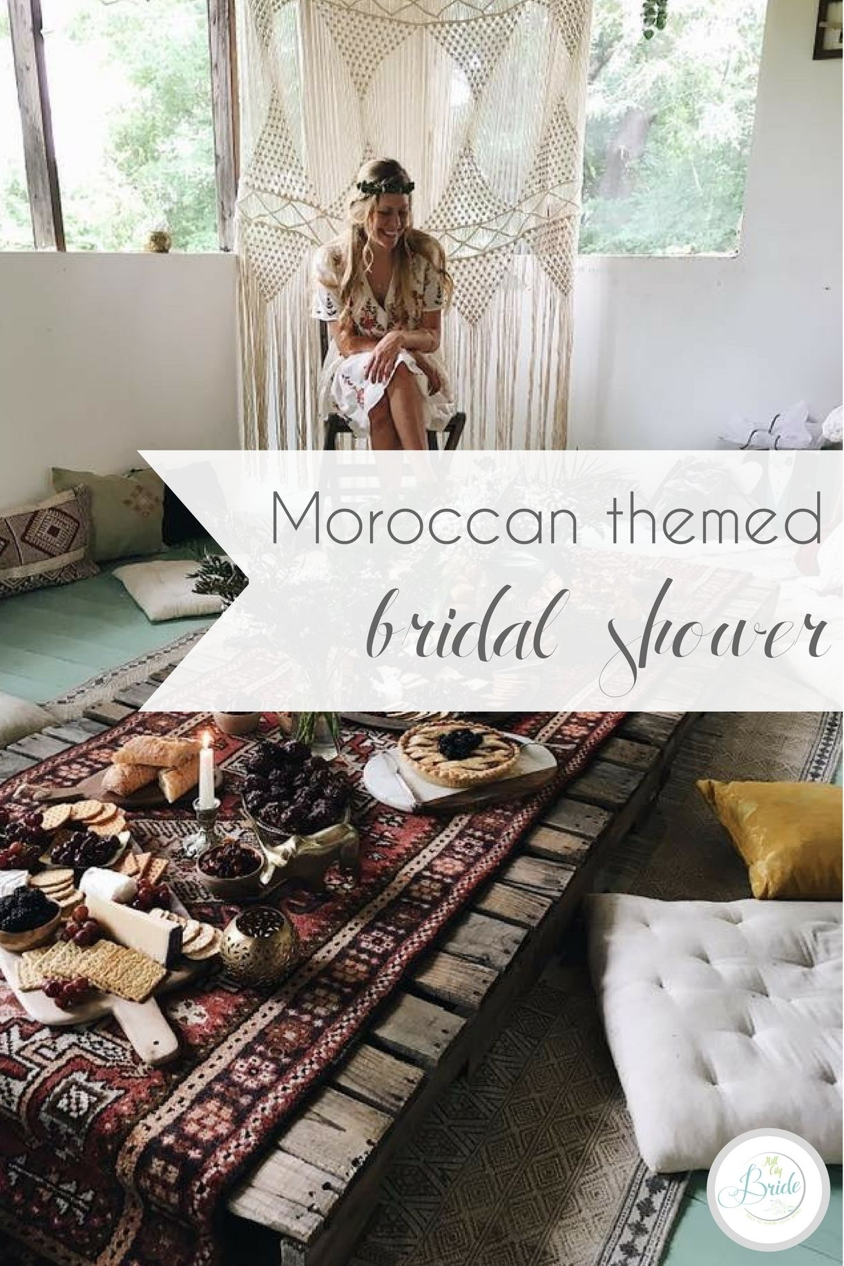Moroccan Themed Bridal Shower   Themed bridal showers, Wedding blog ...