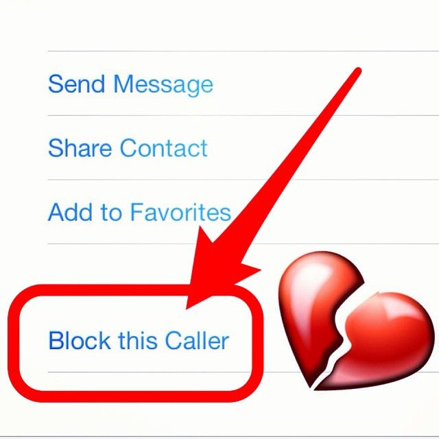 iOS 7 Tip Block people you don't like! Go to the entry in