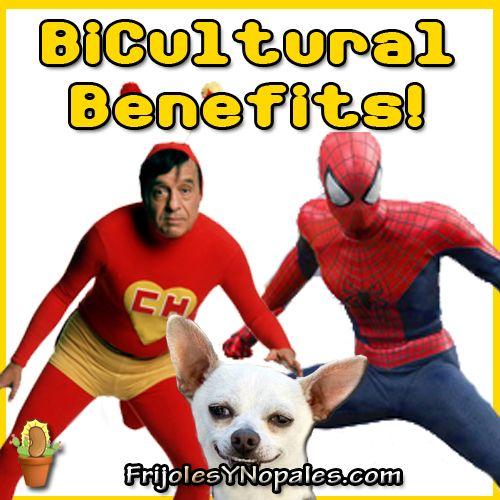Superheroes : Bicultural Benefits