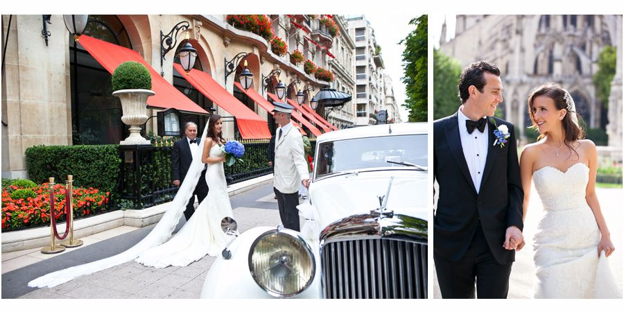 "Wedding in Paris, Plaza Athenee by ""One and Only Paris Photography"""
