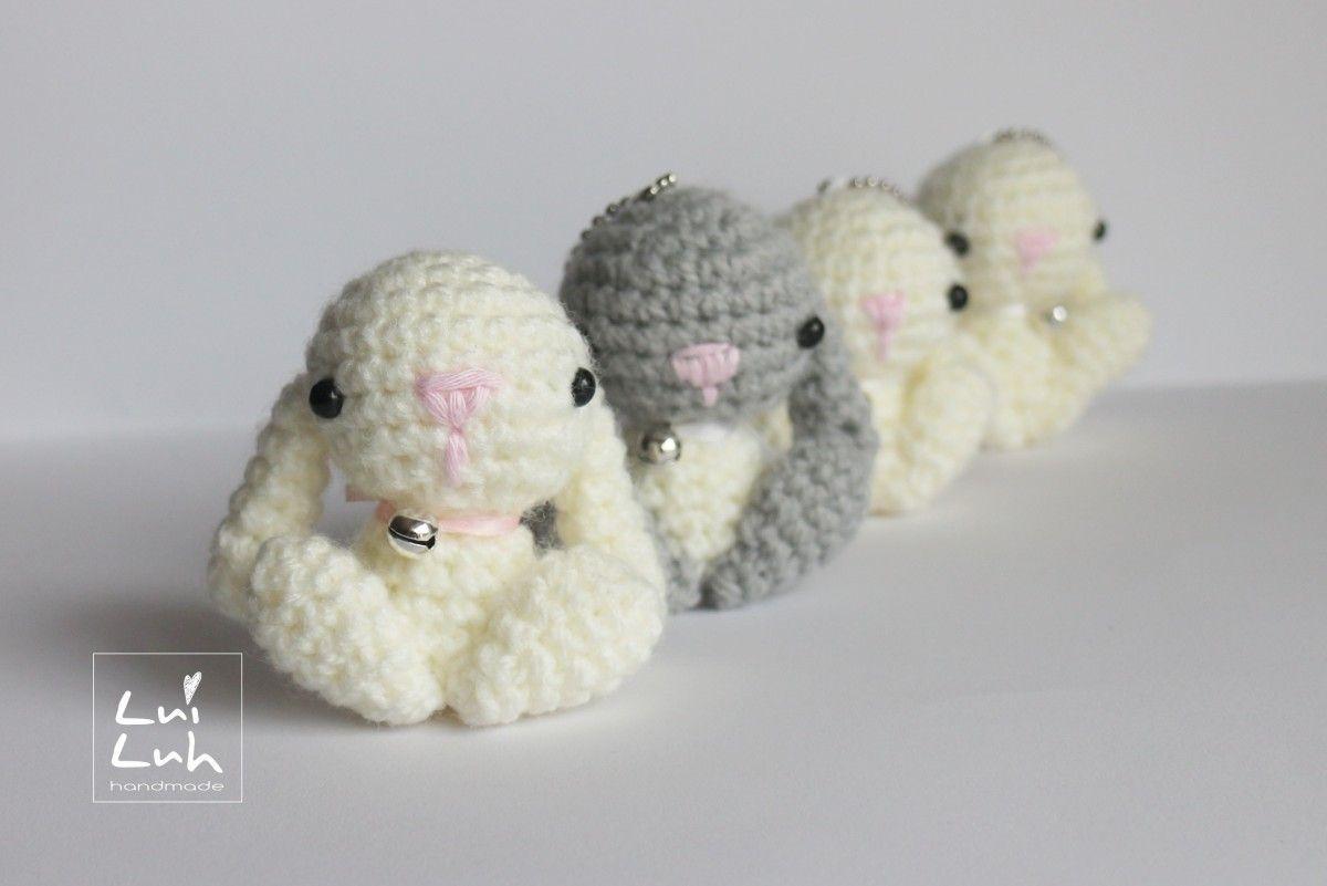 free amigurumi pattern bunny | häkeln | Pinterest | Häkeln, Häkeln ...