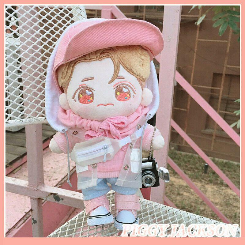 20cm Got7 Plush Toy Jackson Wang Piggy Jackson Doll Original Without Clothes Plush Dolls Baby Plush Toy Horse