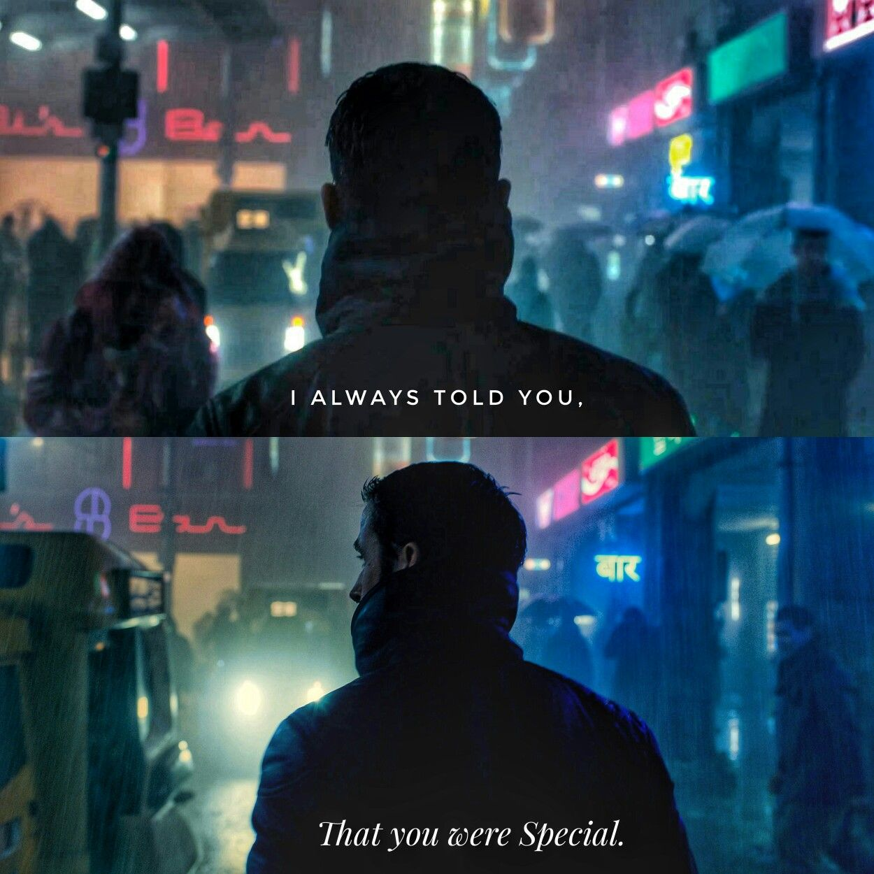 Made A Small Bladerunner Edit On My Instagram Page Hollywood Aesthetics Aesthetic Love Quotes Poetry Q Blade Runner Sci Fi Movies Blade Runner 2049