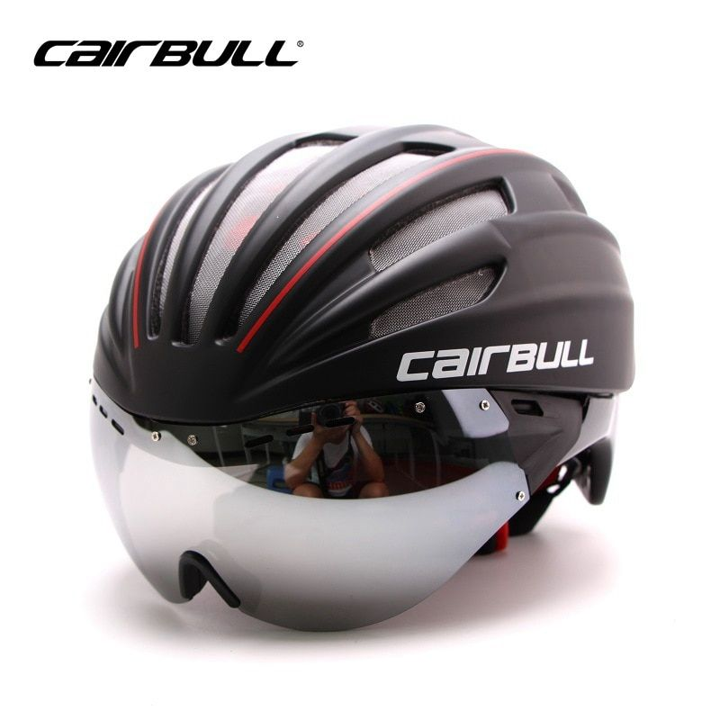 Cairbull Mountain Road Bicycle Helmet Eps Double Layer Goggles