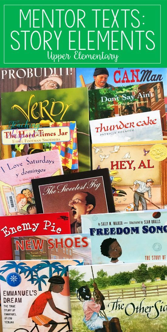 Read Alouds for Teaching Story Elements