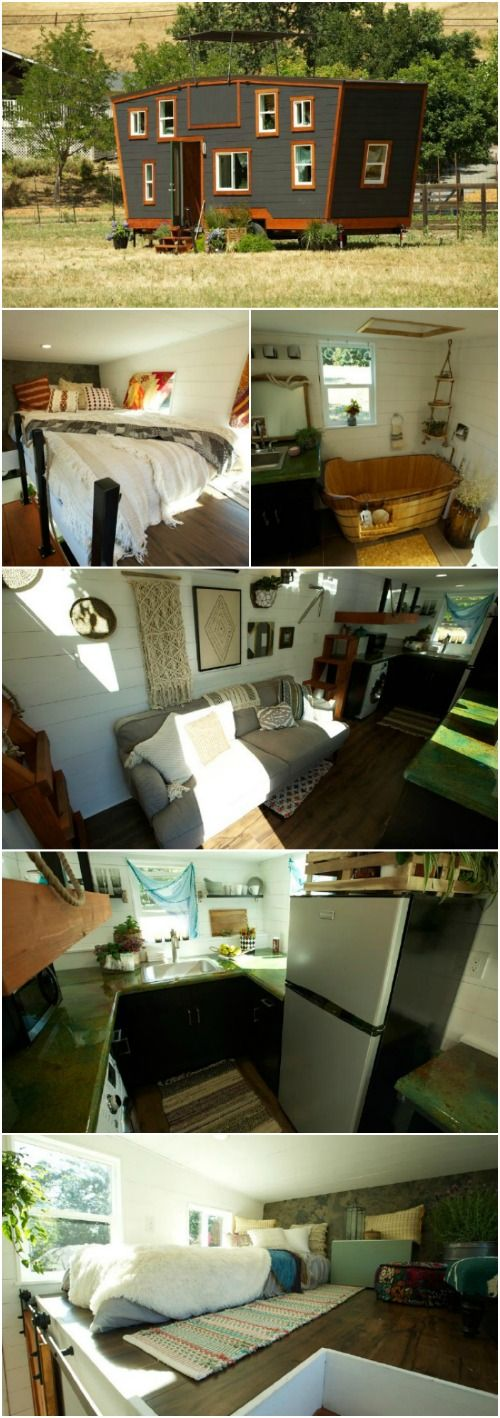 The square foot schooner tiny house designed by viva collectiv talented design team at somehow managed to  that also rh pinterest