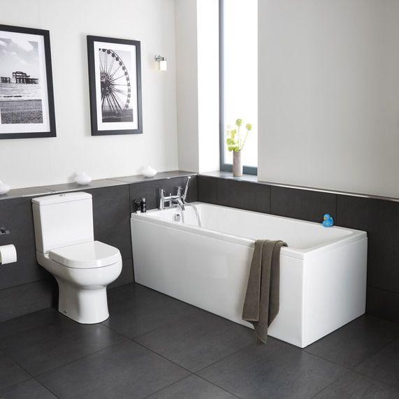 Bath Bathroom pool acrylic bath 1600 x 700 | bathstore | bathroom | pinterest