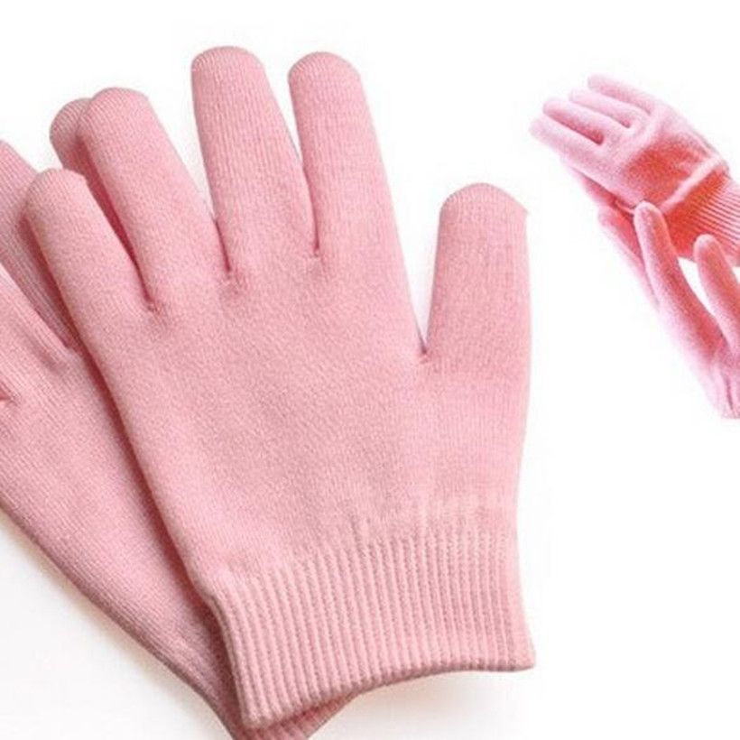 1pair pink color SPA gel repair skin beauty Moisturizing and anti ...