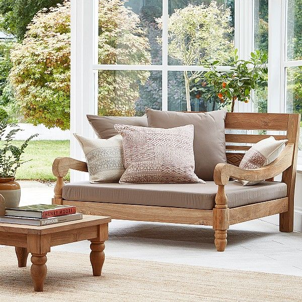 Our Sambala love seat is handmade by skilled artisans in Indonesia ...