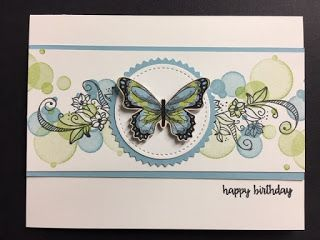 My Creative Corner!: Beauty Abounds, Happy Birthday Gorgeous, Botanical Butterfly DSP, Birthday Card #stampshandmade