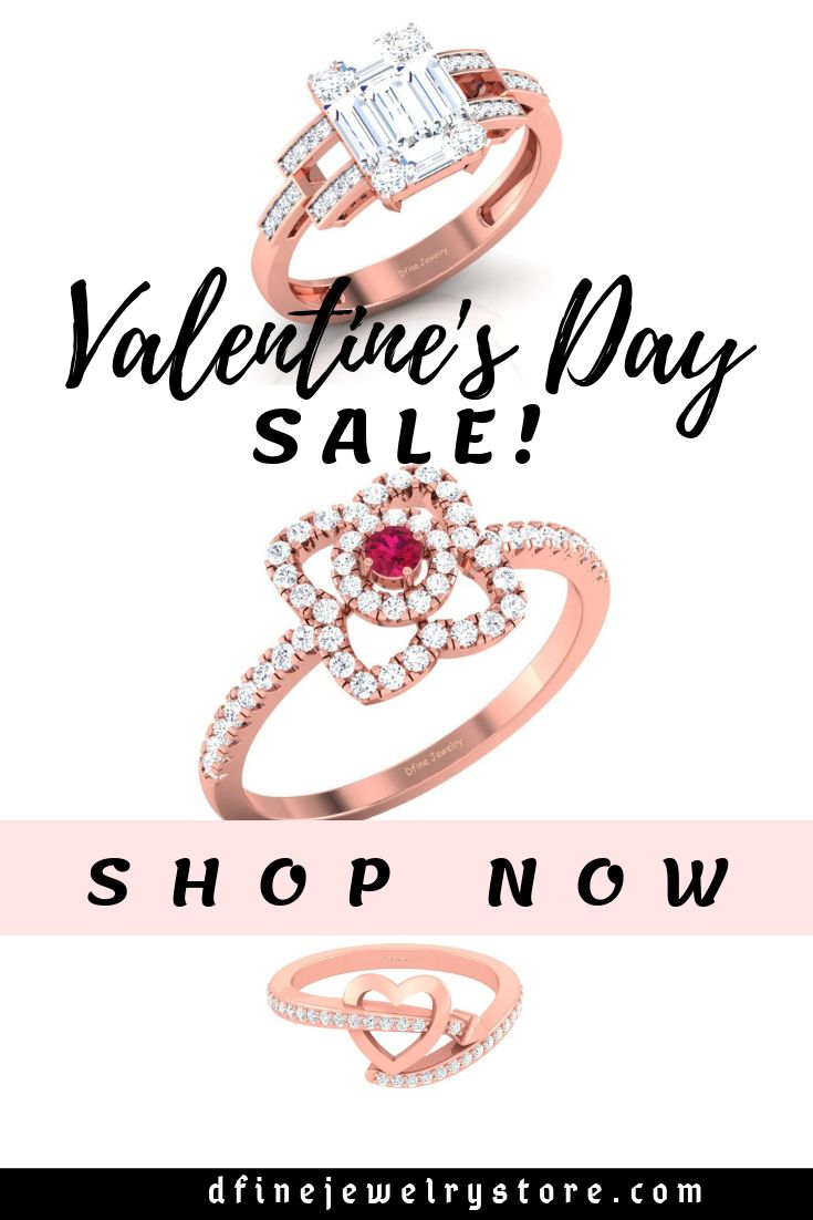 Valentine's Day jewelry sale! Unique rings, necklaces, and ...