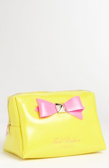 0cdf76c1b03c Love this! Ted Baker London Large Bow Cosmetics Bag available at ...