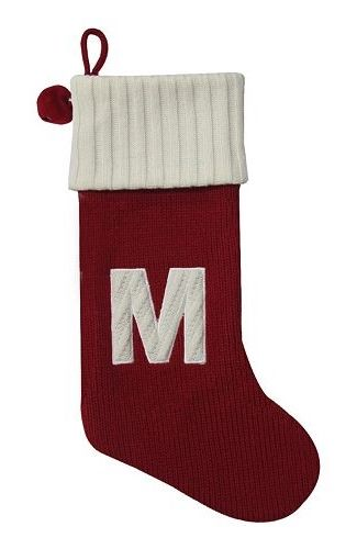 St. Nicholas Square® 21-in. Initial Bell Stocking #Kohls #holiday ...