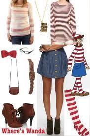 whereu0027s waldo costume women - Google Search  sc 1 st  Pinterest & whereu0027s waldo costume women - Google Search | Costumes | Pinterest ...