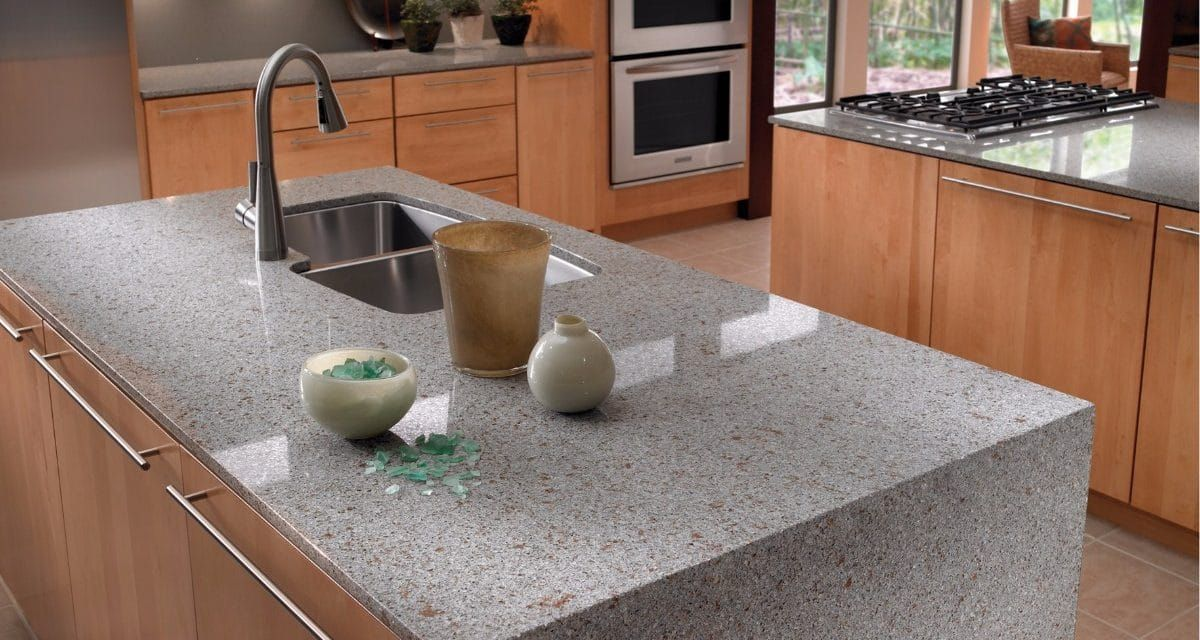 Eco By Cosentino Recycled Countertops In 2020 Kitchen Decor Sustainable Kitchen Recycled Countertops