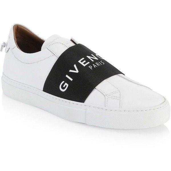GivenchyUrban Logo Elastic Leather Sneakers SsQVwlBd6