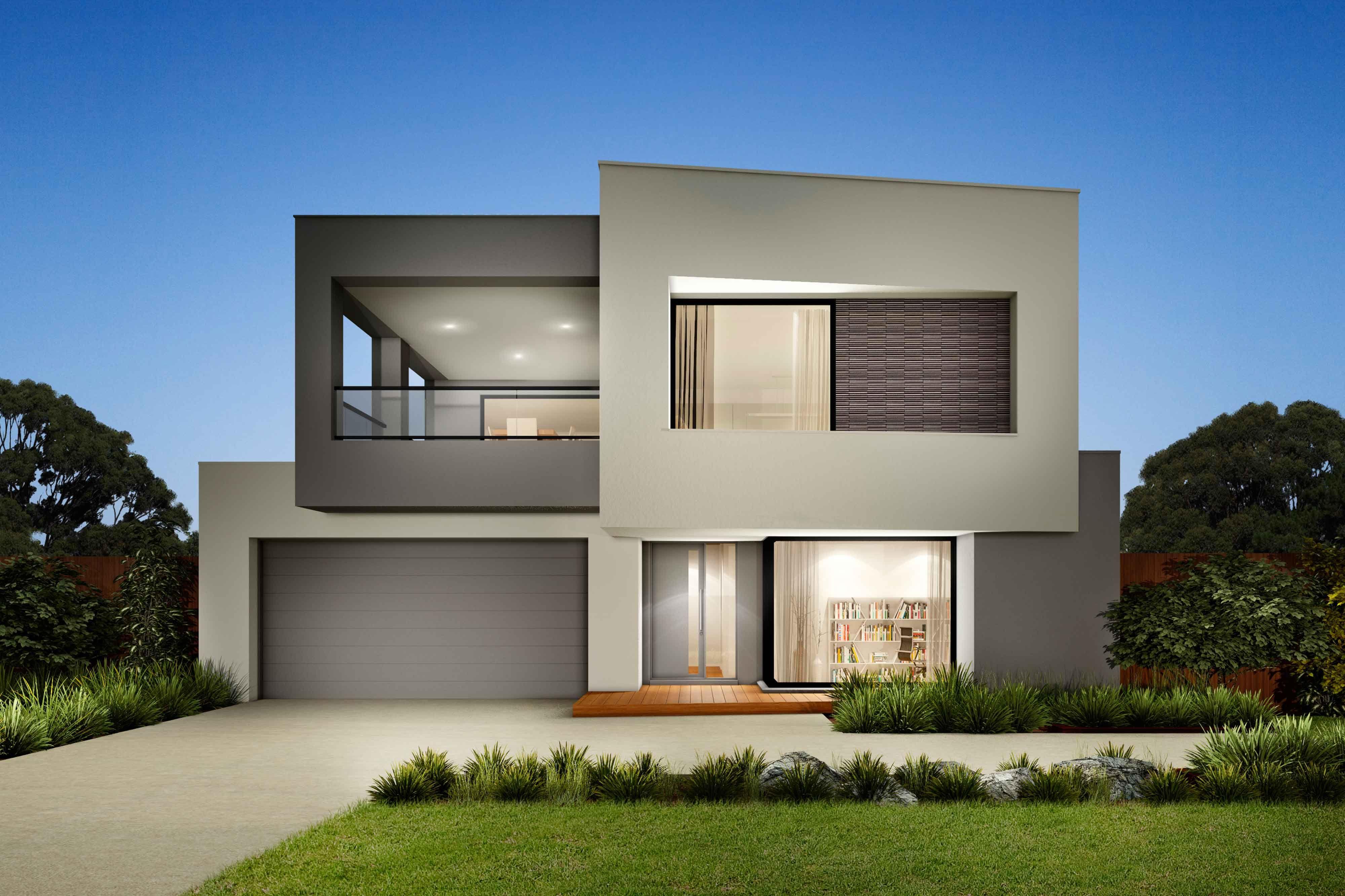 Urban Edge home modern facade | Modern house facades ...