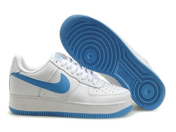 on sale 25b68 4ffc1 Nike Air Force 1 Low Q7 Pour Homme Chaussures Blanc Marine Venta Online