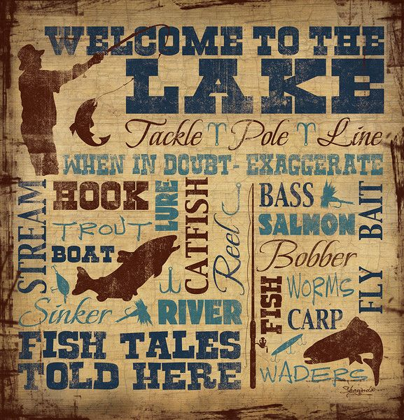 Welcome To The Lake Shower Curtain Lake Lake Fishing