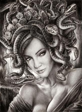 Medusa Tattoos Designs And Ideas Page 5 Arte De Medusas Arte De Miedo Diseño De Tatuaje De Medusa