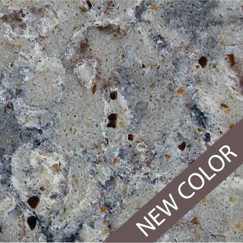 Grey Swirls Give This Surface Vibrance That Will Invigorate Any Room. Allen+roth  Quartz Countertops Are Sold At Lowes.