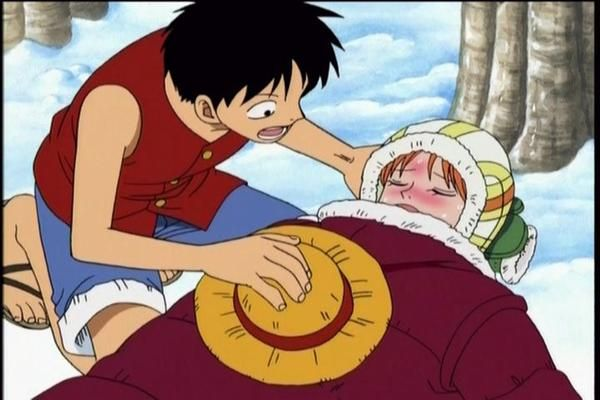 Luffy And Nami Moments Luffy goes to extreme measures