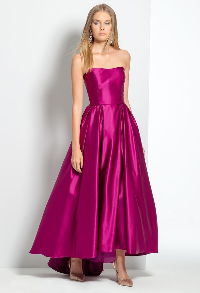 Strapless T-Length Ballgown from Camille La Vie and Group USA ...