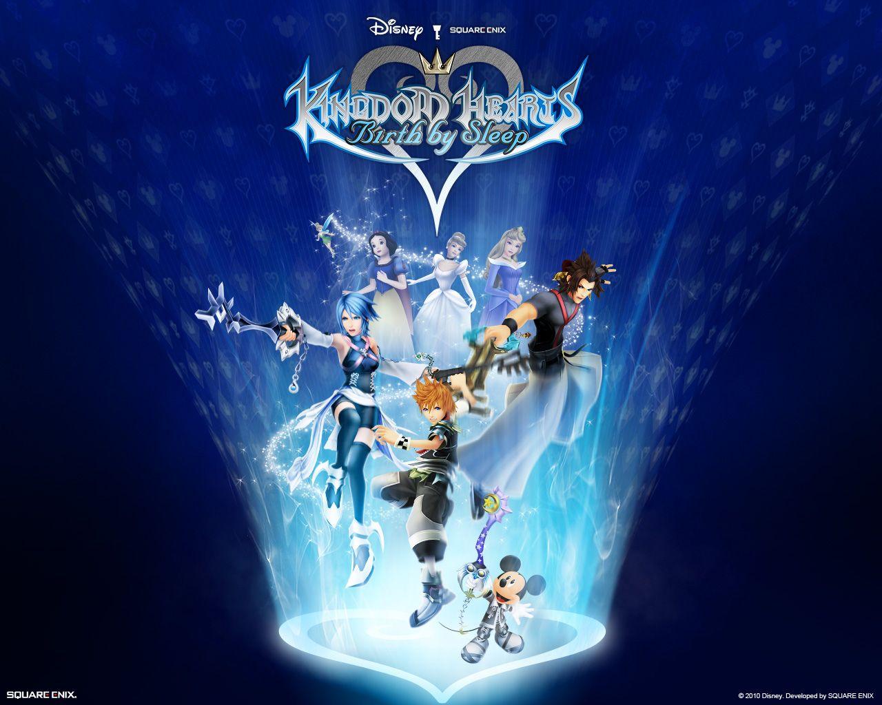 Kingdom Hearts Birth By SleepDesktop Wallpaper Downloads