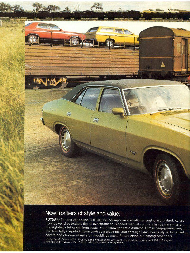 Ford Falcon Xb Brochure Page 6 Ford Falcon Australian Cars Ford
