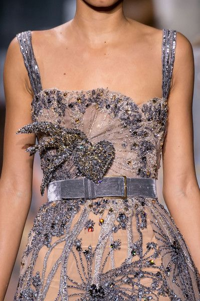 Elie Saab Couture Details, Fall 2016 #runwaydetails