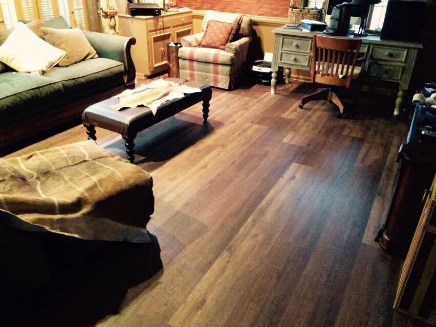 Aesthetic Look Of Real Oak Love The Contrast Of The Lighter And Darker Pops Coretec Plus Xl 9