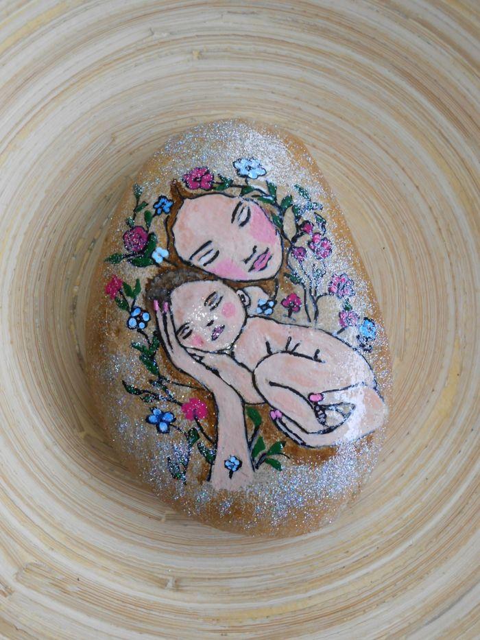 1001 Ideas De Piedras Pintadas Para Ninos Y Adultos Mary - Dibujos-para-pintar-piedras