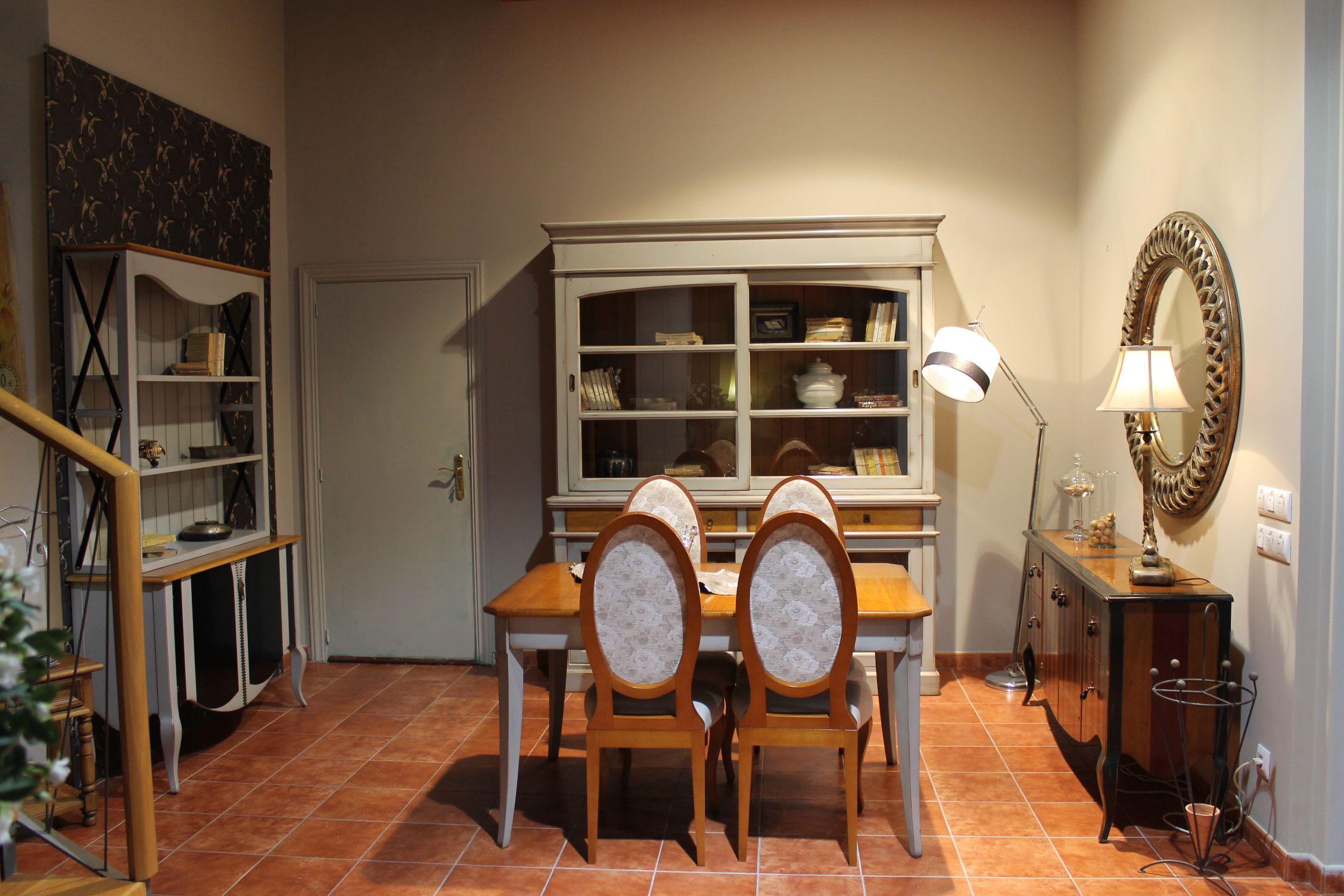 Ambiente de salon comedor clasico modelo opera icono interiorismo - Salon comedor clasico ...