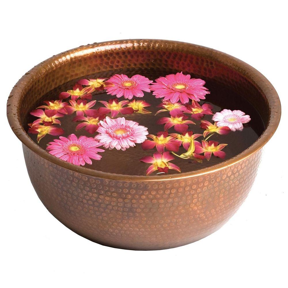 Copper pedicure bowl c1538 pedicure bowls pedicure