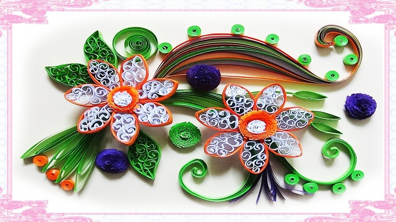 Quilling Made Easy How To Make Beautiful Flower Using Paper