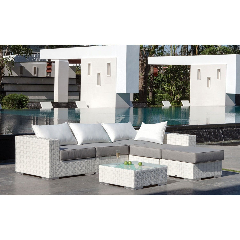 Majestic garden sof modular y mesa de jard n bah a for Sofa modular jardin