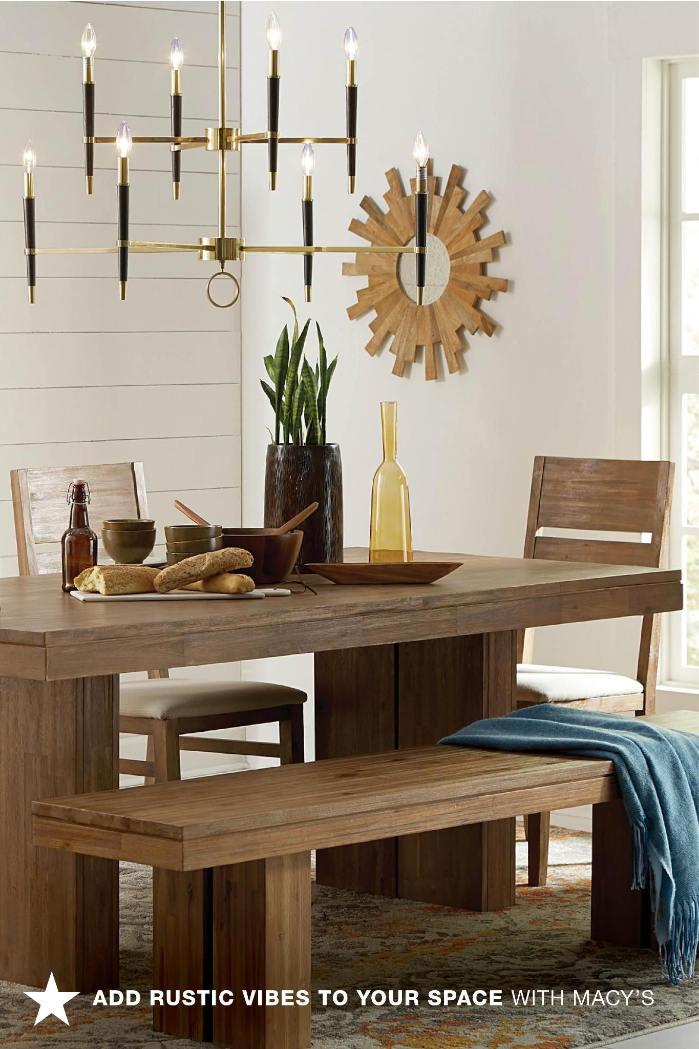 A Rustic Dining Room Table Can Instantly Add A Ton Of Warmth To