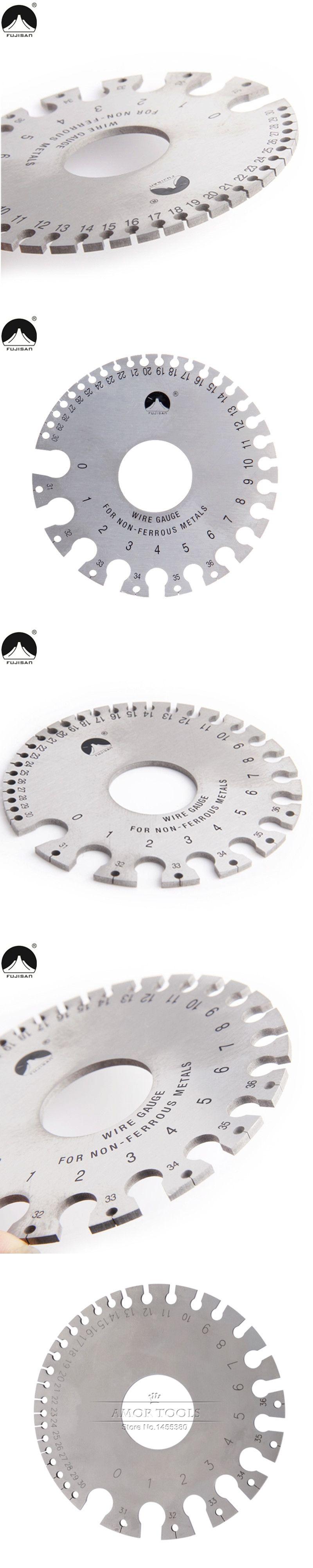 Round Wire Gauge 0-36 Diameter Gage Welding Inspection Gauges Inch ...