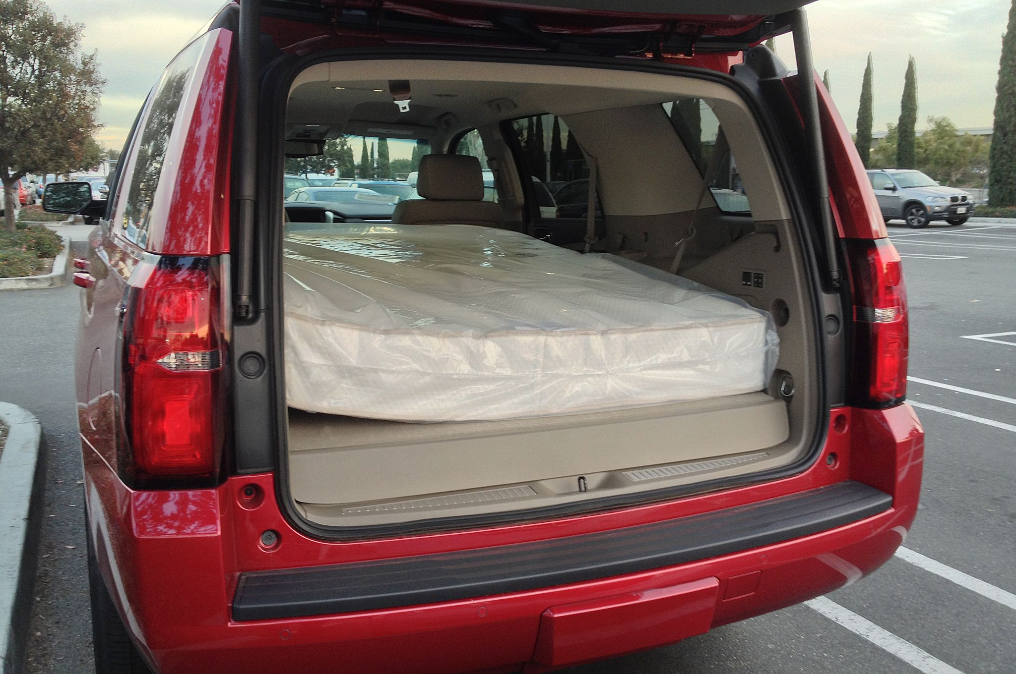 Image result for full size mattress in minivan | Outdoorscapes