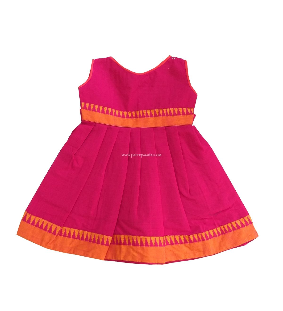 511d60d50cd5 Lovely pink cotton frocks for just born 3 months kids to 2 years ...