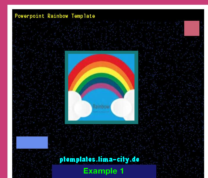 Powerpoint Rainbow Template Powerpoint Templates   The