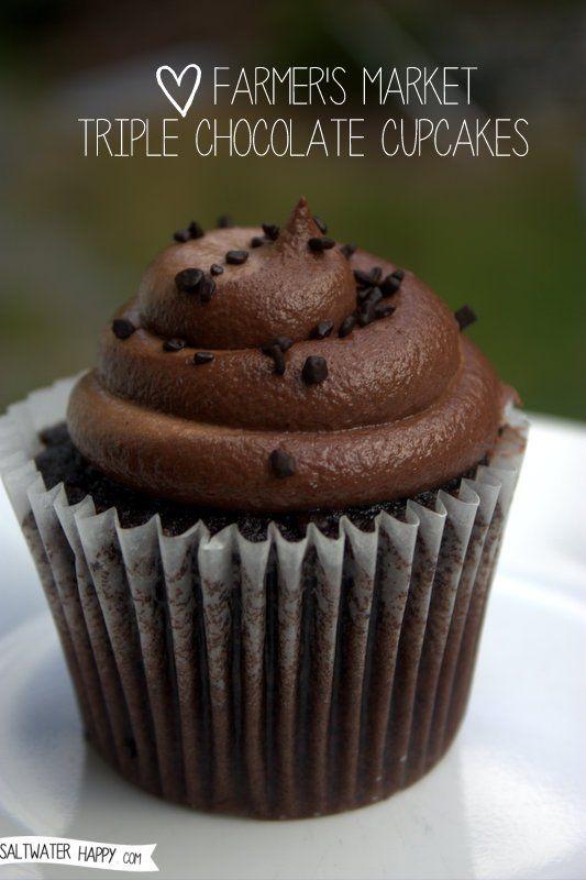 Farmer's Market Triple Chocolate Cupcakes Review
