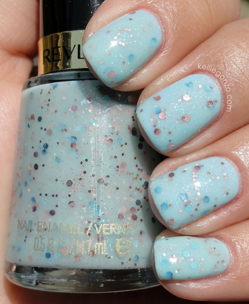 Love this combo ... Sinful Colors: Cinderella over Revlon Whimsical ...