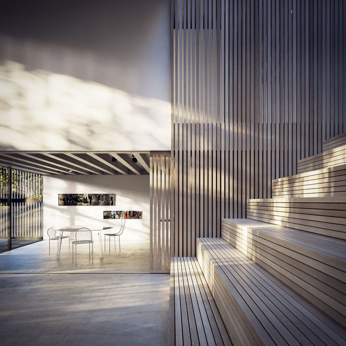 Architecture Interior Design Peter Guthries Kilburn Vale Visualizations