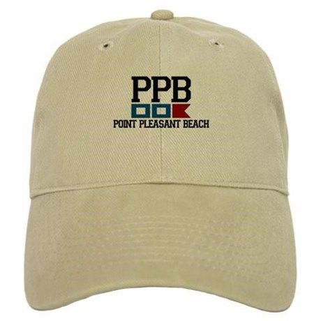 a91836e885e09 Point Pleasant Beach - Nautical Flags Design Baseball Cap on CafePress.com  Texas Baseball