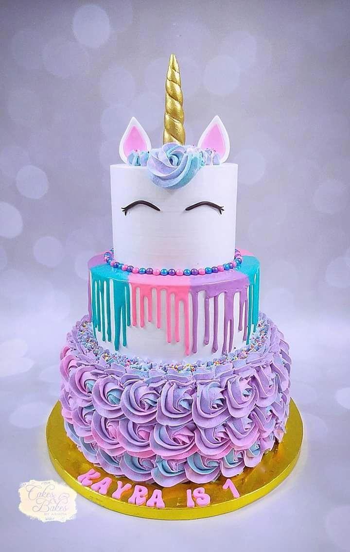 Photo of Unicorn Cake by Cakes & Bakes by Asmita #unicorncake