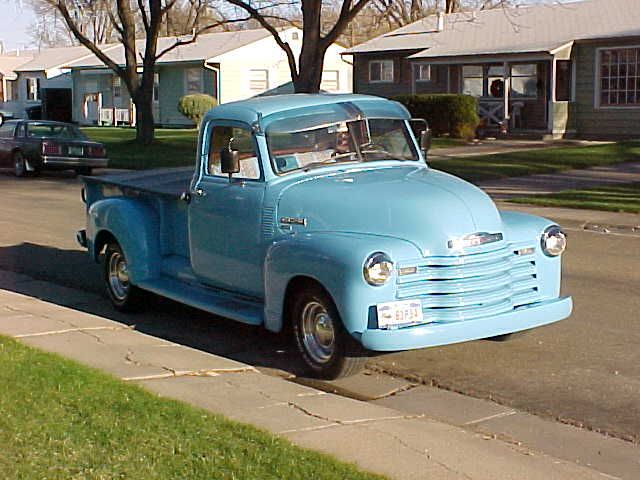 1950 S Chevy Truck Want Want Want Not Necessarily In This Color