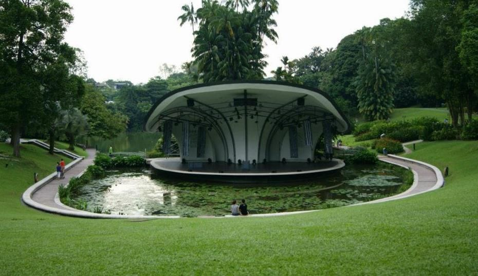 Serenity At The Botanical Garden Singapore Gardening Garden
