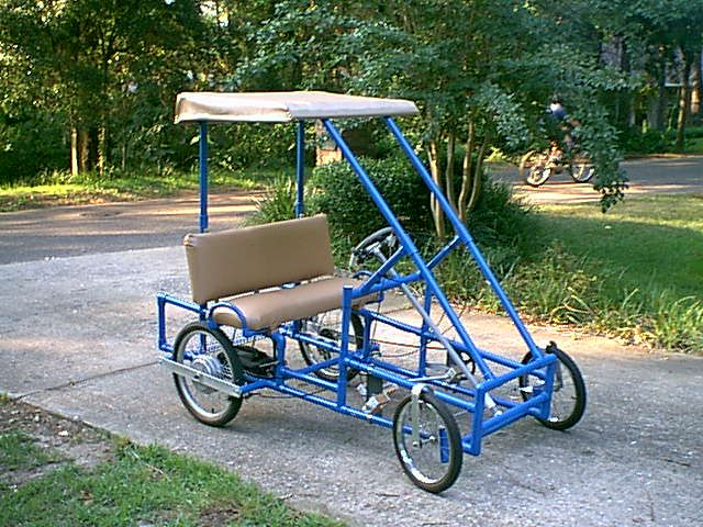 Golf coaster pvc pedal cart plans pvc projects for Golf cart plans